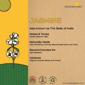 Jasmine incense of agarbathi from Phool on Rose Bazaar
