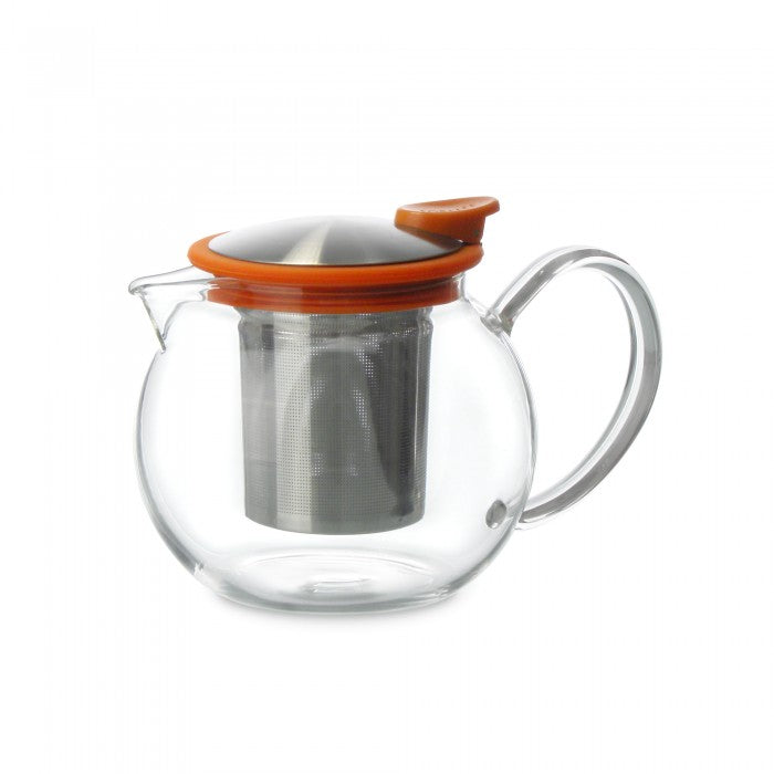 Bola Glass Teapot with Basket Infuser 25oz