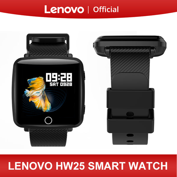 Lenovo HW25 Smart Watch Wristband 1.3 Inch 2.5D IPS Screen Bluetooth