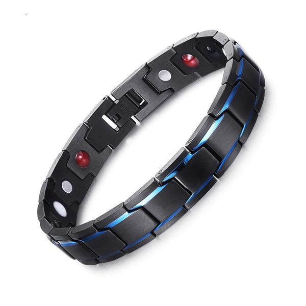 RainSo magnetic therapy charm bracelets for men 4 in 1