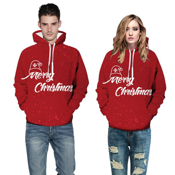 Sweatshirt unisex  Christmas Couple Sweatshirts