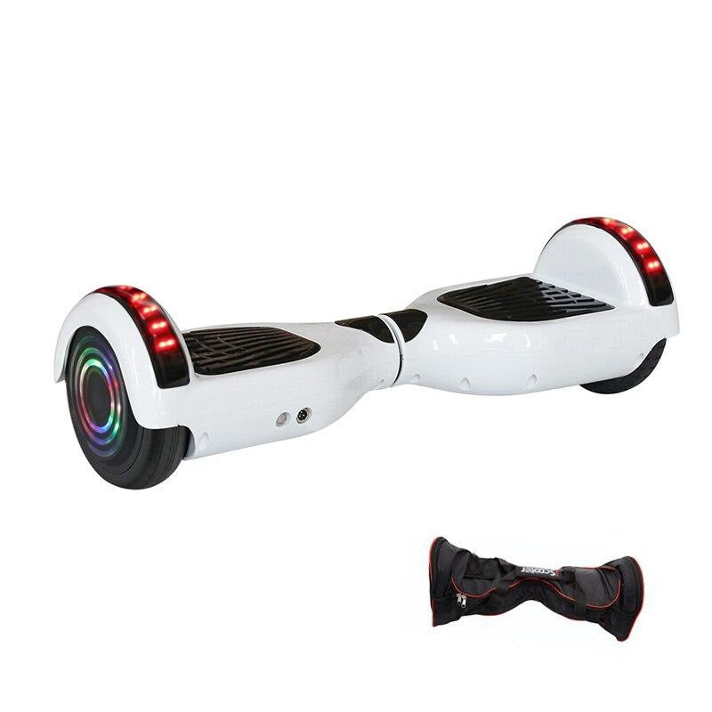 UL2722 Hoverboard 6.5 inch Bluetooth Chrome Color Electric Skateboard