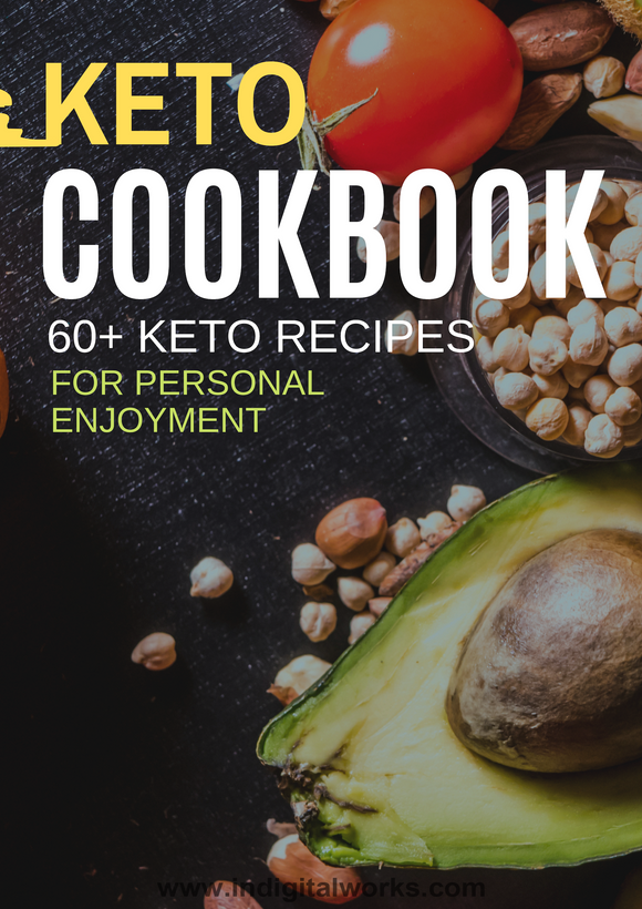 KETO COOKBOOK 60+ KETO RECIPES