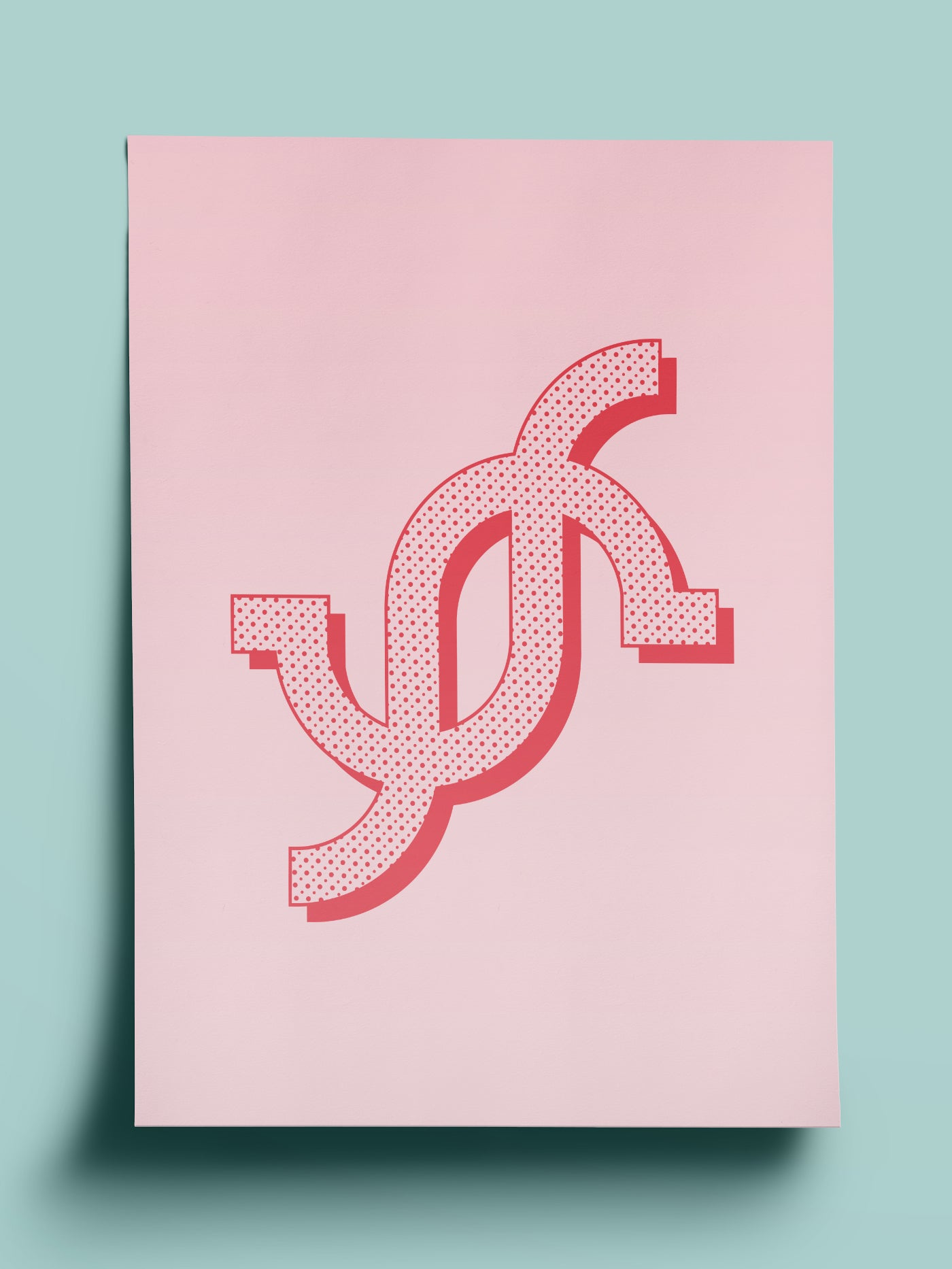 'I Am My Own Girl Crush' Sigil Print