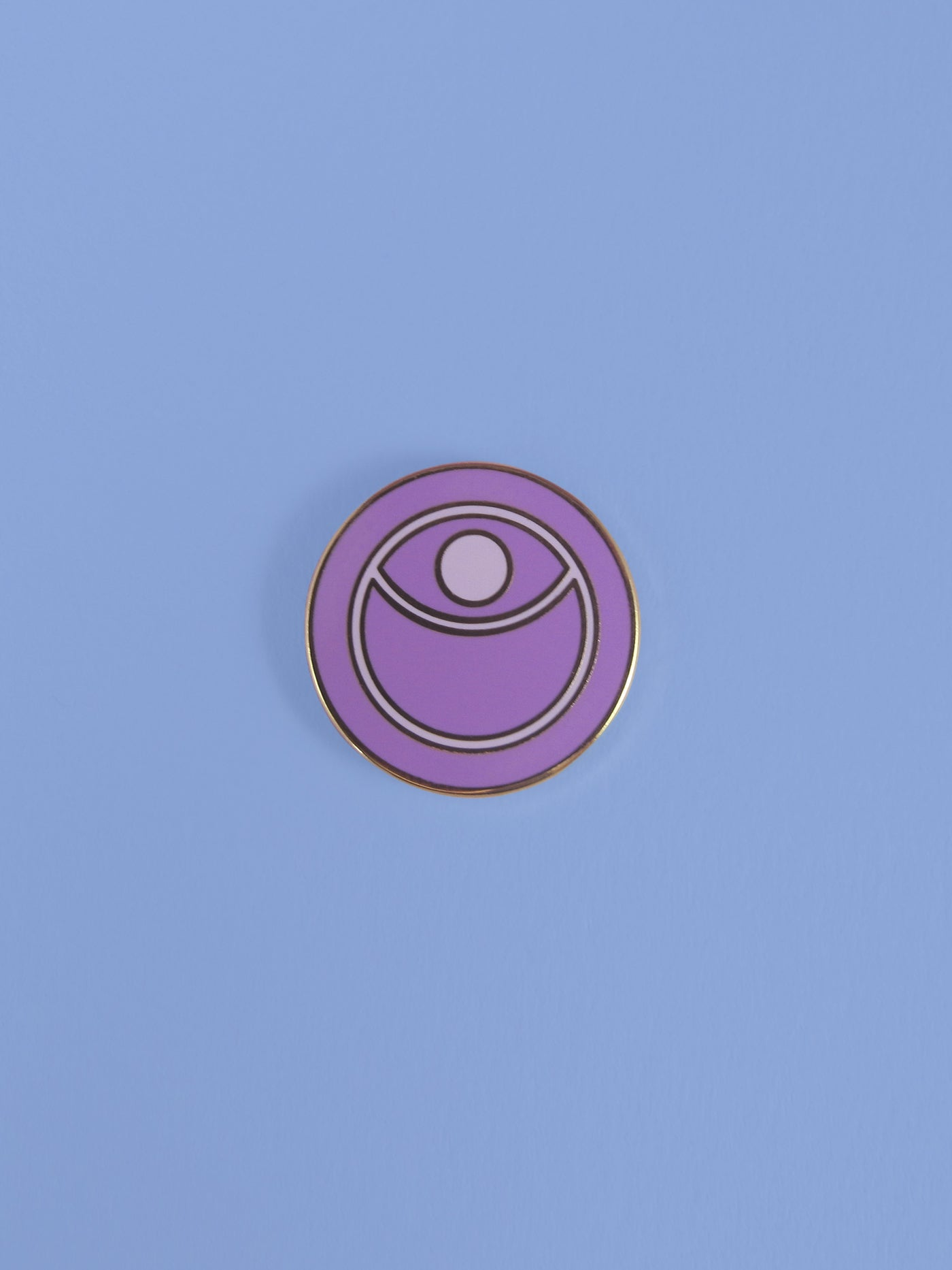 Protective Eye & Moon Pin
