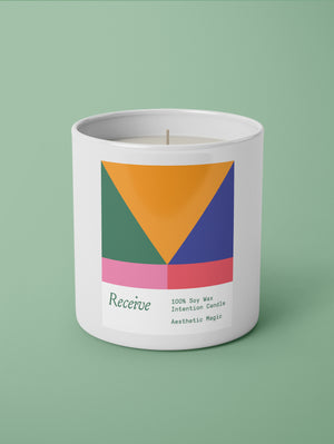Receive Intention Candle