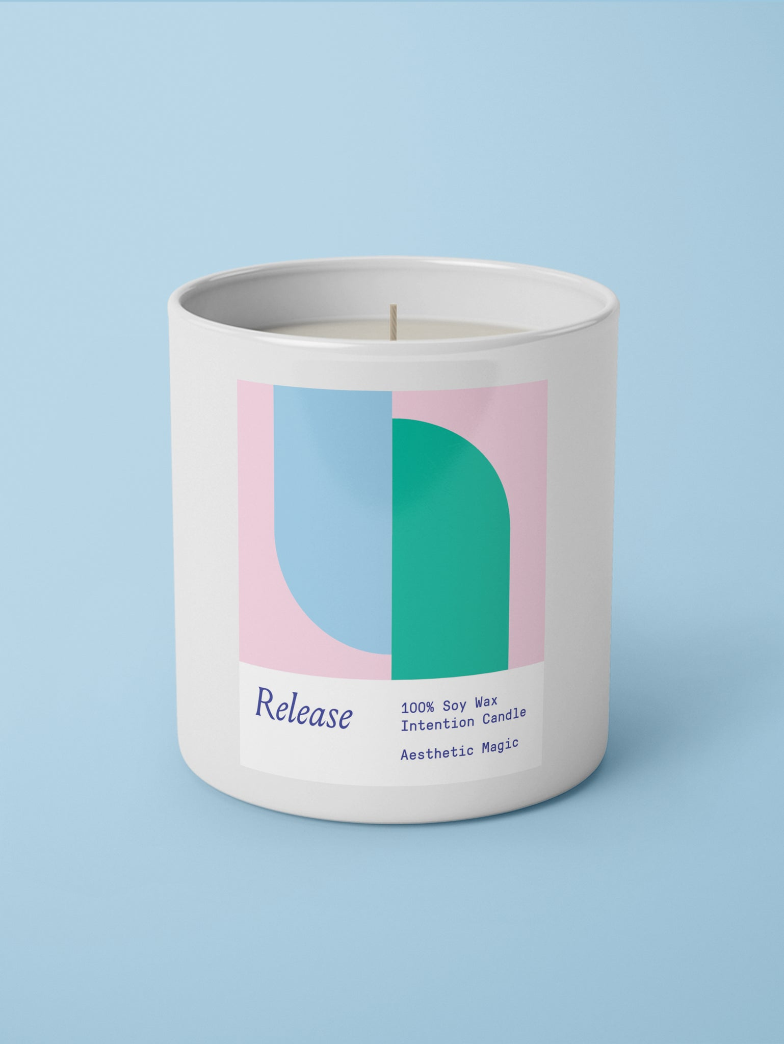Release Intention Candle