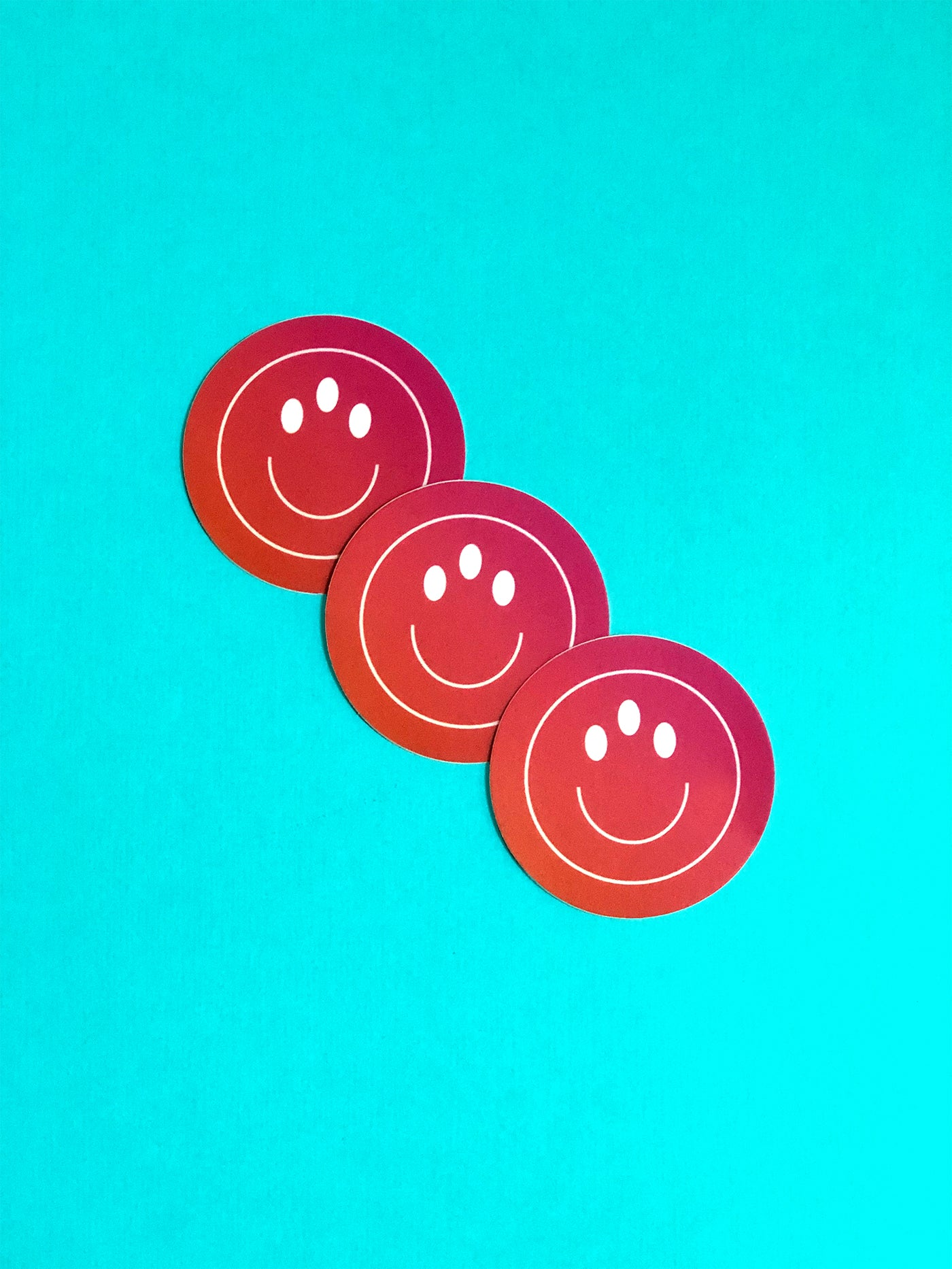 Third Eye Smiley Sticker 3-Pack