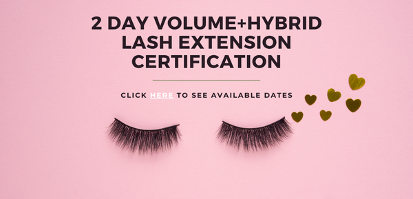 Langley Blink & Brow Co. 2 Day Volume Lash Extension Training Certification