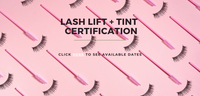 Langley Blink & Brow Co. Lash Lift & Tint Certification