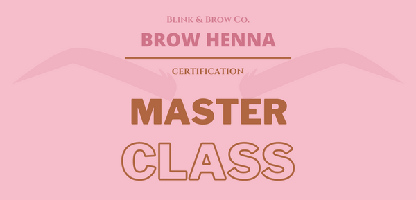 Henna Brow Certification