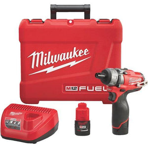 Milwaukee M12 FUEL Lithium-Ion Brushless Cordless Screwdriver Kit 2402-22