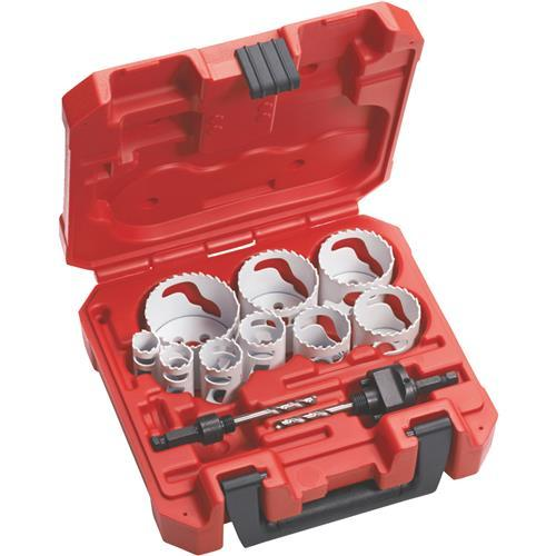 Milwaukee Hole Dozer 13-Piece General Purpose Hole Saw Set 49-22-4025