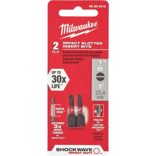 Milwaukee Shockwave Insert Impact Screwdriver Bit 48-32-4416