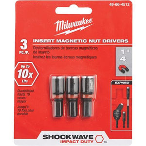 Milwaukee Shockwave Impact Nutdriver 49-66-4512