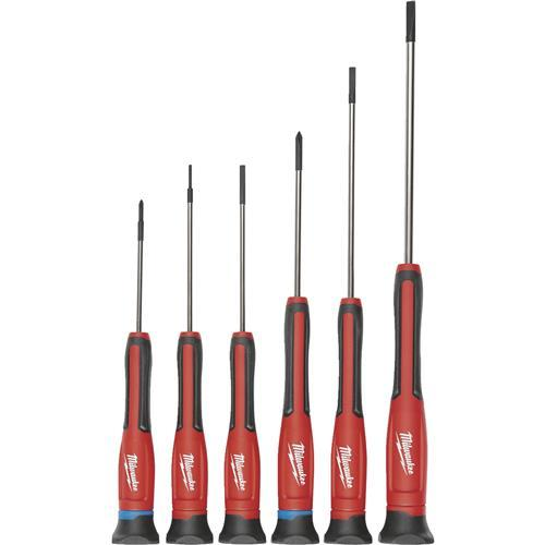 Milwaukee 6-Piece Precision Screwdriver Set 48-22-2606