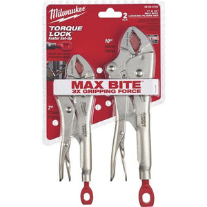 Milwaukee Torque Lock Locking Pliers Set 48-22-3702