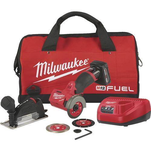 Milwaukee M12 FUEL Lithium-Ion Brushless Cordless Cut-Off Tool Kit 2522-21XC