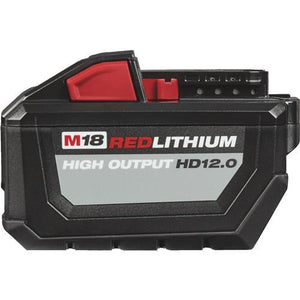Milwaukee M18 REDLITHIUM High Output Li-Ion Tool Battery 48-11-1812