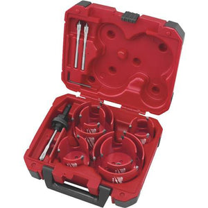 Milwaukee Big Hawg 10-Piece Hole Saw Set 49-56-9290