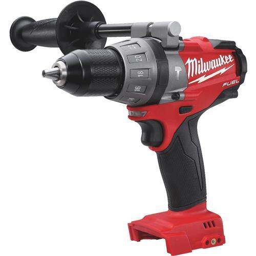 Milwaukee M18 FUEL Lithium-Ion Brushless Cordless Hammer Drill - Bare Tool 2804-20