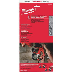 Milwaukee Compact Band Saw Blade 48-39-0508