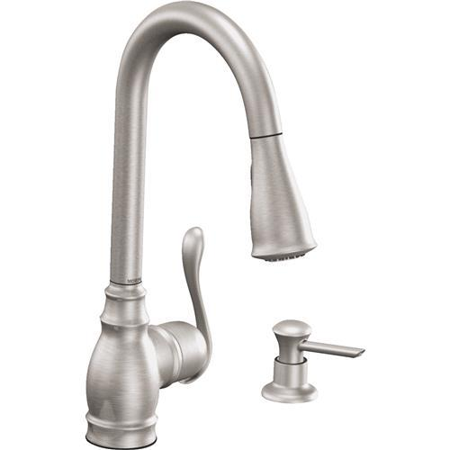 Moen Anabelle Classic Pull-Down Kitchen Faucet CA87003SRS