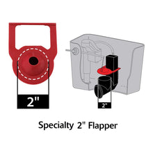 Load image into Gallery viewer, Korky 2011BP Hinge Flapper For Kohler Toilet Repairs