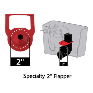 Korky 2011BP Hinge Flapper For Kohler Toilet Repairs
