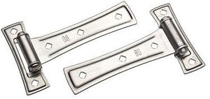 "national mfg co n214-001 7"", Satin Nickel, Contemporary T Hinge"