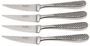 Global GTF-4001-4 Piece Steak Knife Set