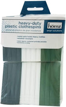 Load image into Gallery viewer, Homz Heavy Duty Plastic Clothespins 24 Count