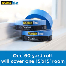 Load image into Gallery viewer, ScotchBlue Original Multi-Surface Painter's Tape,  0.70 inch x 60 yard, 1 Roll