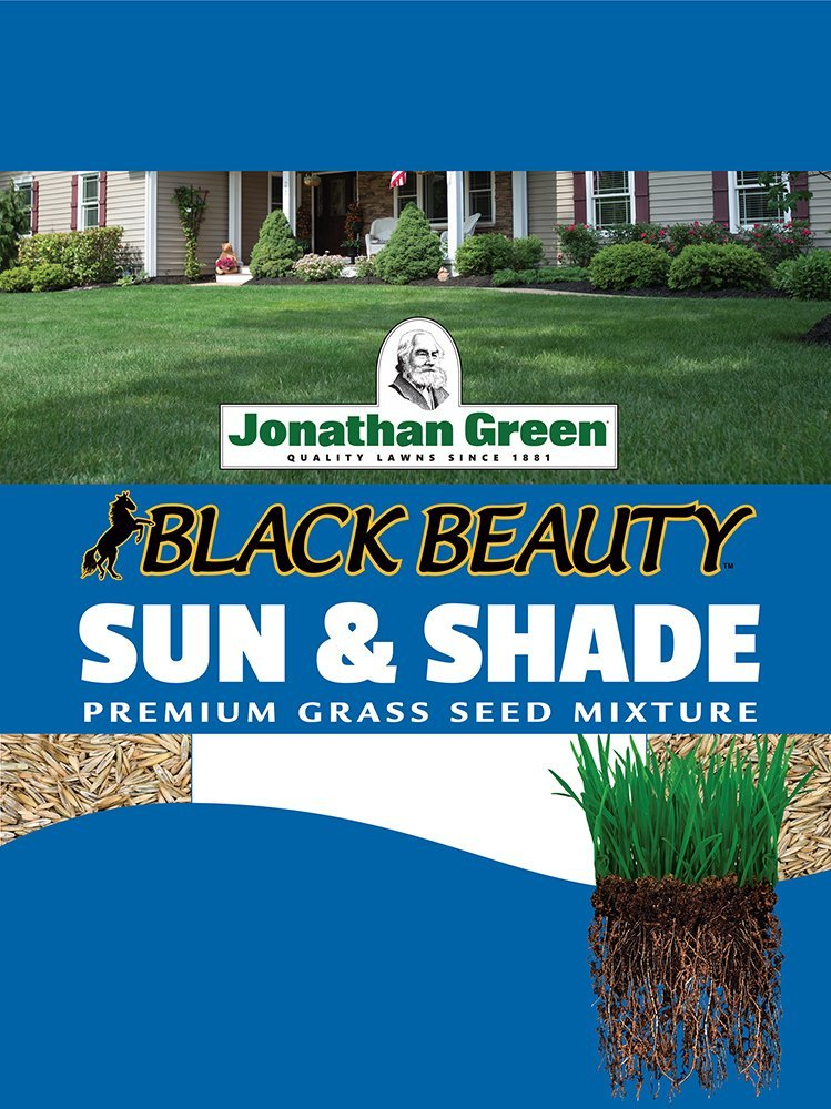 Jonathan Green 12001 Sun and Shade Grass Seed Mix, 1 Pounds