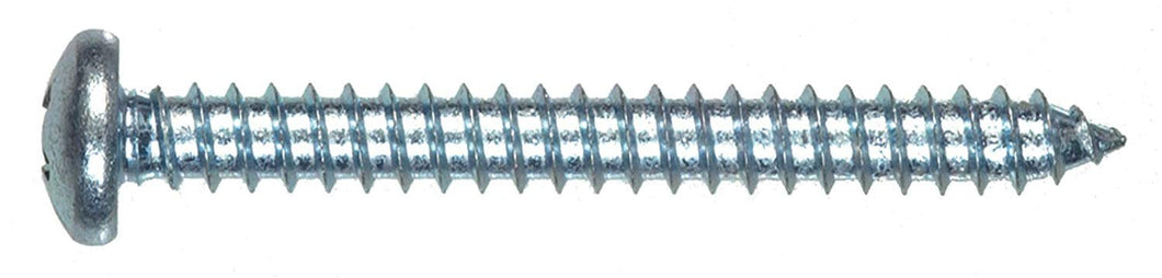 The Hillman Group 80033 8 x 3/8-Inch Pan Head Phillips Sheet Metal Screw, 100-Pack