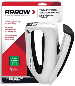 Arrow Fastener Tt21 Staple Gun Trutac