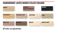 Load image into Gallery viewer, FamoWood 40042118 Latex Wood Filler - 1/4 Pint, Fir/Maple