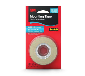 3M Indoor Insulator Film Mounting Tape, .5-Inch by 13.8-Yard 3-Pack