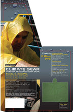 Load image into Gallery viewer, CLC Rain Wear R10410 .10MM PVC Poncho - Yellow Large