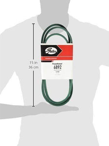 "Gates 6892 PoweRated V-Belt, 4L Section, 1/2"" Width, 5/16"" Height, 92.0"" Belt Outside Circumference"