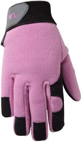 Wells Lamont 7702Y Age 4-7, Synthetic Leather with Spandex Back Kids Glove, Colors May Vary