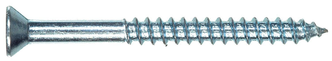 The Hillman Group 40005, #4 x 1-Inch Flat Head Phillips Wood Screw, 100-Pack