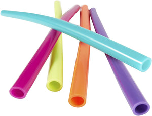 Bubba Big Straw 5 Pack of Reusable Straws (Assorted Bold Colors)