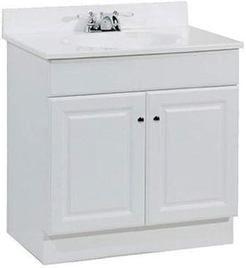 "Rsi Home Products Sales Richmond 30"" W White Vanity,"