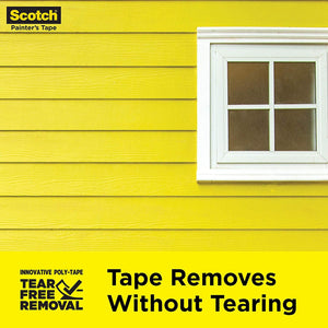 "Scotch Painter's Tape 2097-36EC-XS, 1.41"" Width, Yellow"