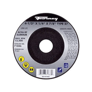 Forney 71886 Grinding Wheel