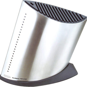 GLOBAL Stainless steel Knife Block - Large