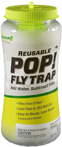 RESCUE Outdoor Non-Toxic Reusable POP! Fly Trap