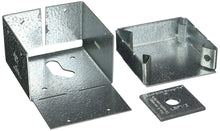 Load image into Gallery viewer, Simpson Strong Tie ABW44Z ZMAX Galvanized 16-Gauge 4x4 Adjustable Post Base 10-per Box