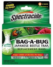 Load image into Gallery viewer, SPECTRACIDE Bag-A-Bug Japanese Beetle Trap Bags